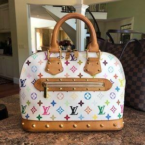 Louis Vuitton multicolor Alma bag 🏳️🌈